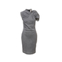 Authentic Second Hand Lanvin Denim Ruched Detail Dress (PSS-956-00020) - Thumbnail 0
