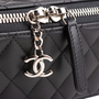 Authentic Second Hand Chanel Lambskin Quilted Jewellery Case (PSS-964-00002) - Thumbnail 4
