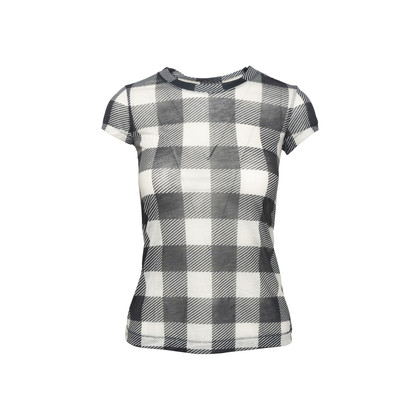 Authentic Second Hand Rag & Bone Checked Tee (PSS-074-00251)