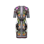 Authentic Second Hand Clover Canyon Baroque Rose Scarf Neoprene Dress (PSS-074-00255) - Thumbnail 1