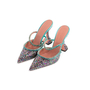 Authentic Second Hand Amina Muaddi Gilda Mules (PSS-143-00150) - Thumbnail 3
