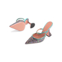 Authentic Second Hand Amina Muaddi Gilda Mules (PSS-143-00150) - Thumbnail 4