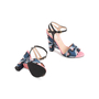 Authentic Second Hand Fendi Bag Bugs Brocade Sandals (PSS-387-00095) - Thumbnail 5