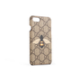 Authentic Second Hand Gucci GG Supreme Bee Phone Case (PSS-387-00098) - Thumbnail 1