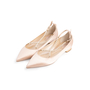 Authentic Second Hand René Caovilla Embellished Pearl Pointed Flats (PSS-916-00336) - Thumbnail 3