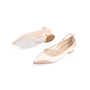 Authentic Second Hand René Caovilla Embellished Pearl Pointed Flats (PSS-916-00336) - Thumbnail 4