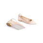 Authentic Second Hand René Caovilla Embellished Pearl Pointed Flats (PSS-916-00336) - Thumbnail 5