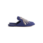 Authentic Second Hand Sanayi 313 Ragno Embroidered Slippers (PSS-916-00339) - Thumbnail 1