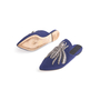 Authentic Second Hand Sanayi 313 Ragno Embroidered Slippers (PSS-916-00339) - Thumbnail 4