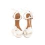 Authentic Second Hand Aquazzura Floral Bridal Sandals (PSS-968-00004) - Thumbnail 0
