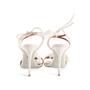 Authentic Second Hand Aquazzura Floral Bridal Sandals (PSS-968-00004) - Thumbnail 2