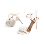 Authentic Second Hand Aquazzura Floral Bridal Sandals (PSS-968-00004) - Thumbnail 4