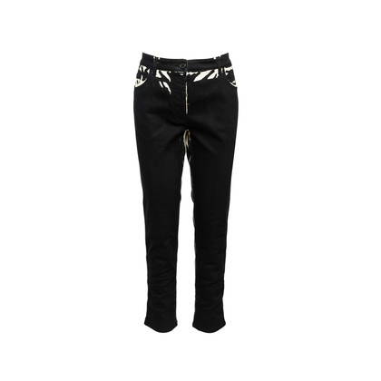 Authentic Second Hand Prada Flame Jeans (PSS-610-00031)