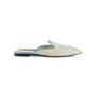 Authentic Second Hand Alberta Ferretti Mia Lace Mule Slippers (PSS-916-00372) - Thumbnail 1