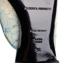 Authentic Second Hand Alberta Ferretti Mia Lace Mule Slippers (PSS-916-00372) - Thumbnail 7