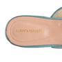 Authentic Second Hand Alberta Ferretti Mia Lace Mule Slippers (PSS-916-00372) - Thumbnail 6
