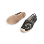 Authentic Second Hand Valentino Embellished Lace Espadrilles (PSS-916-00387) - Thumbnail 4