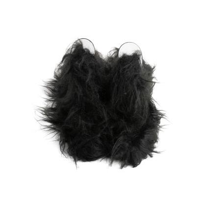 Authentic Second Hand Maison Martin Margiela Faux Fur Mules (PSS-916-00392)