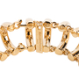 Authentic Second Hand Balenciaga Curved Chainlink Bracelet (PSS-963-00017) - Thumbnail 2