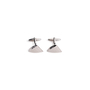 Authentic Second Hand Lanvin Brushed Metal Cufflinks (PSS-967-00006) - Thumbnail 0