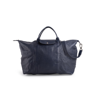 Authentic Second Hand Longchamp Le Pliage Cuir Travel Bag (PSS-967-00003)