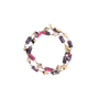 Authentic Second Hand Etro Crystal and Fabric Bead Necklace (PSS-916-00423) - Thumbnail 1