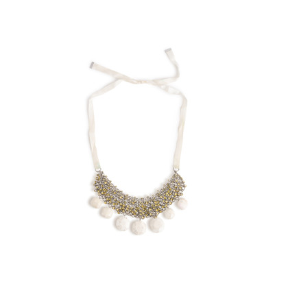 Authentic Second Hand By Malene Birger Olias Crystal Stone Necklace (PSS-916-00427)