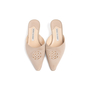 Authentic Second Hand Manolo Blahnik Bead Embellished Mules (PSS-067-00119) - Thumbnail 0
