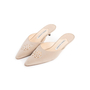 Authentic Second Hand Manolo Blahnik Bead Embellished Mules (PSS-067-00119) - Thumbnail 3