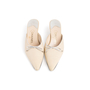 Authentic Second Hand Chanel Leather Pointed Toe Mules (PSS-067-00120) - Thumbnail 0