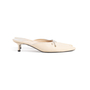 Authentic Second Hand Chanel Leather Pointed Toe Mules (PSS-067-00120) - Thumbnail 1