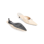 Authentic Second Hand Chanel Leather Pointed Toe Mules (PSS-067-00120) - Thumbnail 5