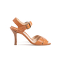 Authentic Second Hand Manolo Blahnik Leather Ankle Strap Sandals (PSS-067-00128) - Thumbnail 1