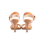 Authentic Second Hand Manolo Blahnik Leather Ankle Strap Sandals (PSS-067-00128) - Thumbnail 2