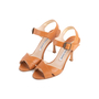 Authentic Second Hand Manolo Blahnik Leather Ankle Strap Sandals (PSS-067-00128) - Thumbnail 3