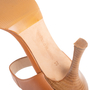 Authentic Second Hand Manolo Blahnik Leather Ankle Strap Sandals (PSS-067-00128) - Thumbnail 6