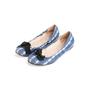 Authentic Second Hand Prada Satin Printed Flats (PSS-067-00131) - Thumbnail 3