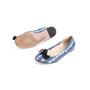 Authentic Second Hand Prada Satin Printed Flats (PSS-067-00131) - Thumbnail 4