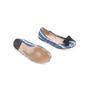 Authentic Second Hand Prada Satin Printed Flats (PSS-067-00131) - Thumbnail 5