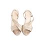 Authentic Second Hand Hermès Metallic Slingback Sandals (PSS-067-00150) - Thumbnail 0