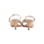Authentic Second Hand Hermès Metallic Slingback Sandals (PSS-067-00150) - Thumbnail 2