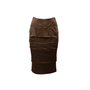 Authentic Second Hand Yves Saint Laurent Tiered Pencil Skirt (PSS-067-00215) - Thumbnail 0