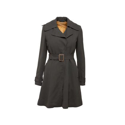 Authentic Second Hand Giorgio Armani Detachable Rabbit Fur Lined Coat (PSS-606-00095)