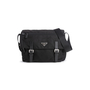 Authentic Second Hand Prada Vela Nylon Messenger Bag (PSS-606-00088) - Thumbnail 0
