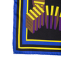 Authentic Second Hand Hermès L'Effet Domino Silk Scarf (PSS-973-00003) - Thumbnail 3