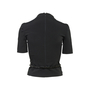 Authentic Second Hand Prada High Neck Blouse with Belt (PSS-606-00103) - Thumbnail 1