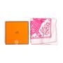 Authentic Second Hand Hermès Happy Cow Motif Pocket Square (PSS-097-00687) - Thumbnail 5