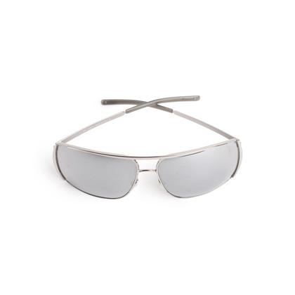 Authentic Second Hand Yves Saint Laurent Metallic Rectangle Sunglasses (PSS-097-00695)