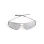 Authentic Second Hand Yves Saint Laurent Metallic Rectangle Sunglasses (PSS-097-00695) - Thumbnail 0