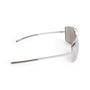 Authentic Second Hand Yves Saint Laurent Metallic Rectangle Sunglasses (PSS-097-00695) - Thumbnail 3